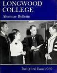 Longwood College Alumnae Bulletin Volume LV number 3, Inaugural Issue, Winter 1969 by Longwood University