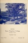 Bulletin State Teachers College   Volume XXXII issue 4, December 1946