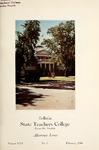 Bulletin State Teachers College   Volume XXX issue 1, February 1944