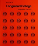 Bulletin of Longwood College Volume LXV issue 2, Fall 1976 by Longwood University