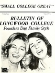 Bulletin of Longwood College Volume LXll issue 2, Winter 1973-74 by Longwood University