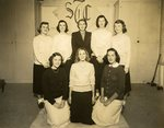 LU-083.0290 - Athletic Association/Delta Psi Kappa Officers, 1949