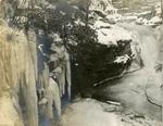 LU-083.1759 - Scranton Falls in winter, 1902