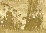 LU-083.1774 - Group of women in costume facing camera