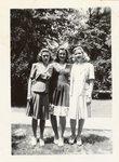 054.016 - Three unidentified women. by Longwood University