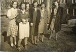 054.018 - Six unidentified women. by Longwood University