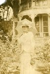 HS-022.004, Unidentified woman holding parasol