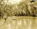 LU-157.0070 - Appomattox River 1/2 mile from Farmville, VA by John Chester Mattoon