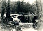 LU-157.0075 - Appomattox River, Farmville dam at high water by John Chester Mattoon