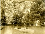 LU-157.0091 - Appomattox River, 3/4 mile up from Farmville, VA by John Chester Mattoon