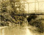 LU-157.0093 - Appomattox River, bridge above Jackson's low grounds by John Chester Mattoon