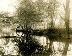 LU-157.0095 - Appomattox River, above narrow-gauge bridge by John Chester Mattoon