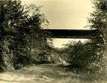LU-157.0096 - Appomattox River, N&W bridge near Farmville, VA by John Chester Mattoon