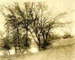 LU-157.0098 - Appomattox River at Farmville, VA by John Chester Mattoon