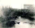 LU-157.0100 - Appomattox River, dam at Farmville, VA by John Chester Mattoon