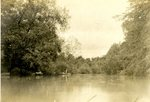 LU-157.0106 - Appomattox River, boat landing in Farmville, VA by John Chester Mattoon