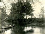 LU-157.0111 - Appomattox River, John C. Mattoon's boat, near Dutchman's Curve by John Chester Mattoon