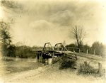 LU-157.0116 - Wagon bridge over Little Buffalo, Farmville, VA by John Chester Mattoon