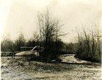 LU-157.0117 - Wagon bridge over Little Buffalo, Farmville, VA by John Chester Mattoon