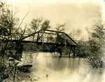 LU-157.0118 - Wagon bridge over Little Buffalo, Farmville, VA by John Chester Mattoon
