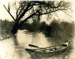 LU-157.0120 - Little Buffalo Creek from wagon bridge by John Chester Mattoon