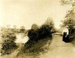 LU-157.0126 - Scene across Buffalo Creek. by John Chester Mattoon