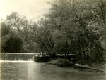 LU-157.0140 - Unidentified river and weir by John Chester Mattoon