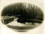 LU-157.0141 - Unidentified river and weir by John Chester Mattoon