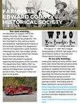 FPEHS, August 2021 Newsletter