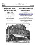 FPEHS, January 2008 Newsletter by Farmville-Prince Edward Historical Society