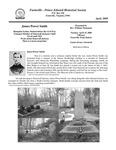 FPEHS, April 2008 Newsletter by Farmville-Prince Edward Historical Society