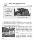 FPEHS, October 2008 Newsletter