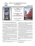 FPEHS, September 2008 Newsletter