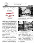 FPEHS, August 2008 Newsletter by Farmville-Prince Edward Historical Society