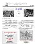 FPEHS, July 2008 Newsletter by Farmville-Prince Edward Historical Society