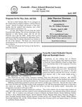FPEHS, April 2009 Newsletter by Farmville-Prince Edward Historical Society