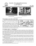 FPEHS, June 2010 Newsletter by Farmville-Prince Edward Historical Society