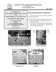FPEHS, July 2010 Newsletter by Farmville-Prince Edward Historical Society