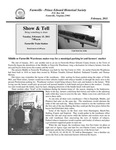 FPEHS, February 2011 Newsletter by Farmville-Prince Edward Historical Society