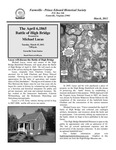 FPEHS, March 2011 Newsletter by Farmville-Prince Edward Historical Society