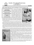 FPEHS, July 2011 Newsletter by Farmville-Prince Edward Historical Society