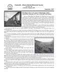 FPEHS, September 2011 Newsletter by Farmville-Prince Edward Historical Society