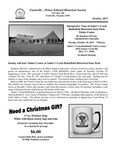 FPEHS, October 2011 Newsletter by Farmville-Prince Edward Historical Society