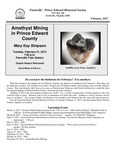 FPEHS, February 2012 Newsletter by Farmville-Prince Edward Historical Society