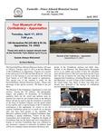 FPEHS, April 2012 Newsletter by Farmville-Prince Edward Historical Society