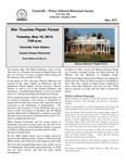 FPEHS, May 2012 Newsletter by Farmville-Prince Edward Historical Society