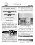 FPEHS, August 2012 Newsletter by Farmville-Prince Edward Historical Society