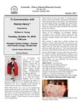 FPEHS, October 2012 Newsletter by Farmville-Prince Edward Historical Society