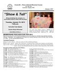 FPEHS, January 2013 Newsletter by Farmville-Prince Edward Historical Society