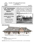 FPEHS, April 2013 Newsletter by Farmville-Prince Edward Historical Society
